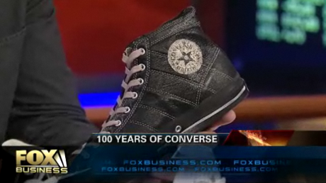 Converse and Black Fives on FOX Business News