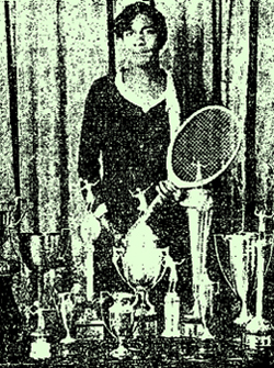 Ora Washington, tennis player