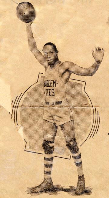 New York Harlemites player, 1935